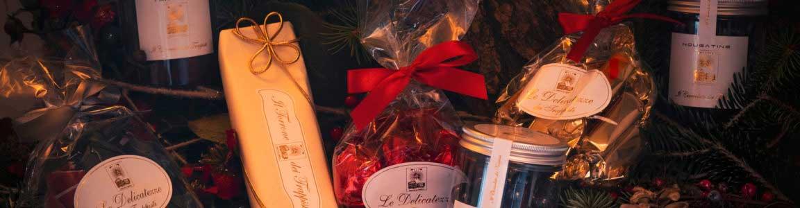 Tipici Natale cesti natalizi confezioni regalo cioccolato trappisti