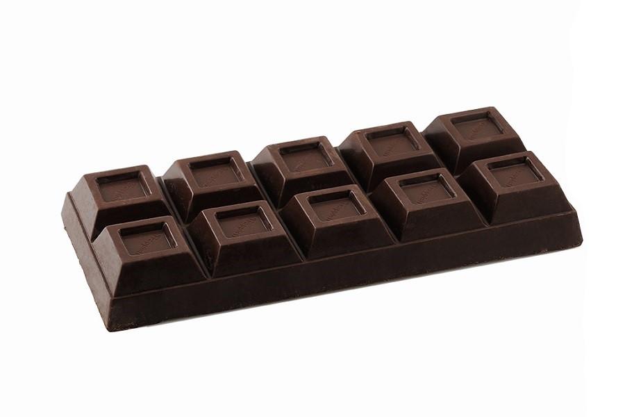 Blocco di Cioccolato Artigianale Fondente da 400 grammi dall'antica ricetta Trappista
